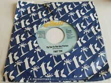 TINY TIM - Tip Toe To The Gas Pumps / The Hicky (On Your Neck) 1979 NOVELTY 7""