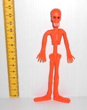 SCHELETRO - SKELETON 2000s flexy rubber figure - personaggio gomma flexy