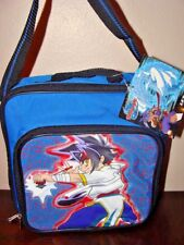 NEW WITH TAGS BEYBLADE LUNCHBOX BAG BLUE POW