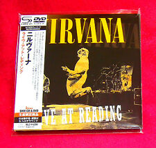 Nirvana Live At Reading JAPAN SHM MINI LP CD + DVD UICY-94346