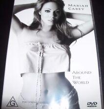 Mariah Carey Around The World (Australia Region 4) DVD - Like New