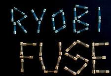 Ryobi 18V 18.0V caricabatteria auto TIME-DELAY SOSTITUZIONE FUSIBILE ONE + PLUS + 2A