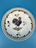 """Williams-Sonoma Rooster Bowl Serving Dish Platter Plate Large 13"""""""