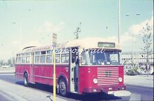 U52 - Dia slide original 35 mm bus autobus touringcar: NMBS Eindhoven 1971