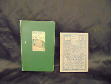 2 Antique Books The Call of the Sea and Lady of the Lake Walter Scott Frank Took