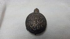 "Antique Miniature Brass Turtle ""Pull My Head But Not My Leg""  36"" Tape Measure"