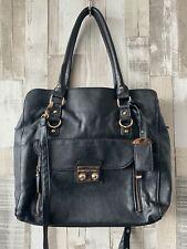 Next Black Faux Leather Medium Size Handbag Business Office