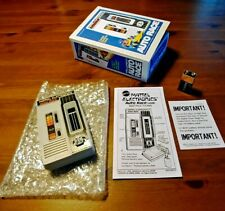 Mattel Electronics Auto Race Vintage Handheld Game, Repro Box Art & Repro Manual