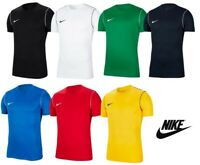 Nike Park Training Mens Dri-Fit Crew Sports Gym Football T Shirt Top Tee S-XXL