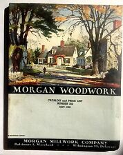 1952 Moran Millwork Wood Work Catalog Stairs, Mantels, Cabinets, Doors, Windows