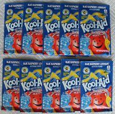 10 packets of KOOL-AID drink mix: BLUE RASPBERRY LEMONADE ten packs beverage