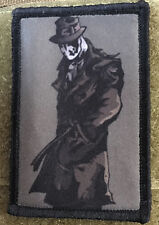 Watchmen Rorschach Morale Patch Tactical Tactical Military Army Badge Hook Flag