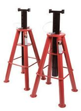 Sunex Tools 1410 10 - Ton High Height Pin Type Jack Stands (Pair)