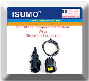 56028364AA Intake Air Temperature Sensor W/Connector Fit:Chrysler Dodge Jeep Ram