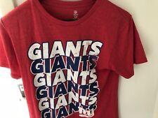 VINTAGE RED NEW YORK GIANTS MEDIUM TEE-SHIRT NFL TEAM APPAREL
