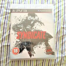 syndicate playStation 3  game New other – still poly sealed – ps3 – collectors