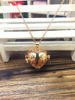 NEW Perfume Fragrance Essential Oil Aromatherapy Diffuser Locket Necklace DX106