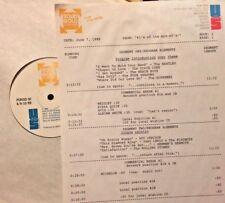 RADIO SHOW: 6/7/88 #1's MID 60's! DIXIE CUPS,4 SEASONS,BYRDS,STONES, ROY ORBISON