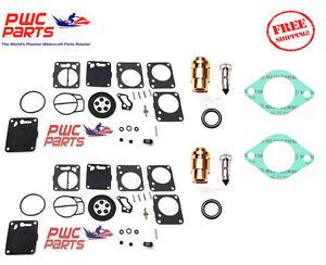 Seadoo Double Mikuni Carburateur Reconstruction Kit & Aiguille Siège & Carb