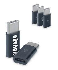 3er Set USB 3.1 Typ-C auf Micro USB Adapter f Huawei Mate 20 Pro Type-C Stecker