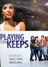 PLAYING FOR KEEPS,NEW! DVD,Marisa Tomei,Rock n Roll ,Phil Collins,Peter Frampton