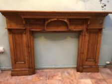 Solid Wood Antique Style Fireplace Mantelpieces & Surrounds