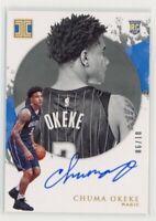 2019-20 Panini Impeccable Chuma Okeke RC Gold Autograph 6/10 Rookie Magic Auto