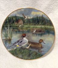"""The Pintail by Bart Jerner Knowles Collectible Plate 8 1/2"""" 1986 Limited Edition"""