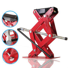 NEW 2 TON HEAVY DUTY CAR VAN GARAGE EMERGENCY SCISSOR LIFTING PORTABLE LIFT JACK