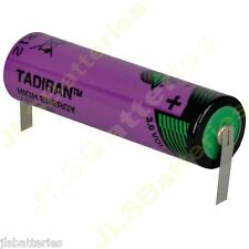 3.6V Tadiran Lithium AA Battery LS14500 tabs tags SL760 SL-760