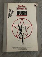 GUITAR TECHNIQUES OF RUSH MUSIC BOOK PIANO/VOCAL/GUITAR/CHORDS WITH TAB SONGBOOK