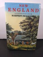 NEW ENGLAND Collection from HARPERS MAGAZINE Gallery Books 1990 HC