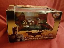 Batman Begins Tumbler Batmobile Alarm Clock RARE HARD TO FIND NIB