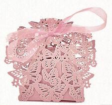 10/20/30 SCHACHTEL KARTONAGE ROSÉ CANDY BOX Gastgeschenk Hochzeit Taufe Deko
