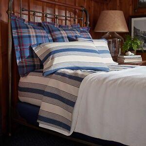 NEW Ralph Lauren Home Saranac Peak Corbet CAL KING EXTRA DEEP Fitted Sheet G1741