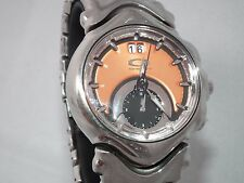 OAKLEY JUDGE WATCH 10-163 POLISHED COPPER FACE / STAINLESS STEEL