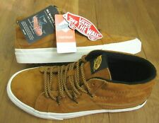 Vans Mens Sk8-Mid Reissue MTE All Weather Sudan Brown Skate shoes Size 10 NWT
