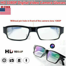 HD 1080P Digital Video Camera Glasses Camcorder DVR Security Recorder USPS Ship