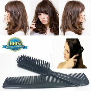 Professional Comb and Brush Set Smooth Finish Non Scratching Teeth