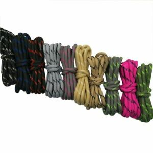 Shoelaces Polyester Non Slip Wear Resistant Round Polka Outdoor Sports Climbing