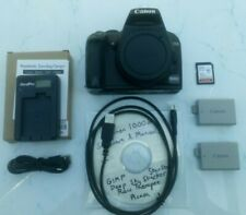 Canon EOS 1000d Astrophotography budget starter camera package + software