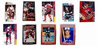 (9) Eric Lindros Odd-Ball Trading Card Lot
