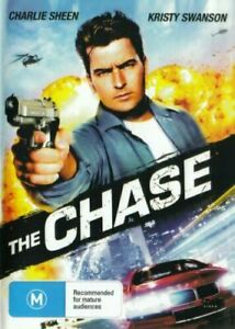 The Chase DVD Charlie Sheen Brand New and Sealed Plays Worldwide NTSC 0