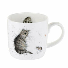 Royal Worcester Wrendale Design Tazza Gatto e Topo Wrendale Designs CAT Tazze