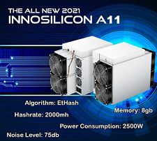 Innosilicon A11 8g Mining Eth 2000mh Ethereum Crypto Available We Finance