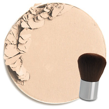 Colorescience Pressed Mineral Foundation+Brush - Warm Fair / Light as a Feather