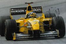 Damon Hill Hand Signed B&H Jordan Photo 12x8.
