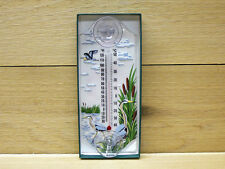 Aspects Classic Window Mount Outdoor Thermometer Great Blue Heron #268