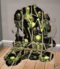 Deluxe Halloween Scene Setter Add-on SKELETON INVASION