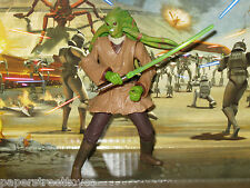 '02/#05 Star Wars, Saga, Kit Fisto (Jedi Master) (AOTC) Loose